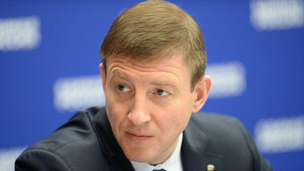 Секретарь Генерального совета Единой России, вице-спикер Совета Федерации РФ Андрей Турчак. Архивное фото