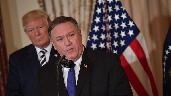 Госсекретарь США Майк Помпео. Архивное фото