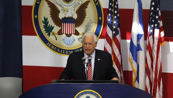Посол США в Израиле Дэвид Фридман. Архивное фото