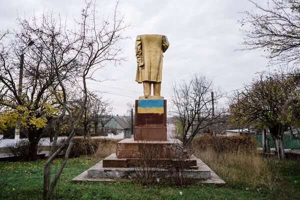 Село Шабо, Одесская область. 21 ноября 2015. В поисках Ленина