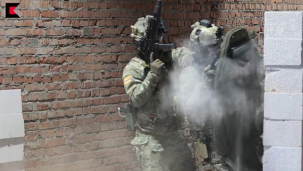 «Калашников» показал испытания пистолета-пулемета «Витязь»