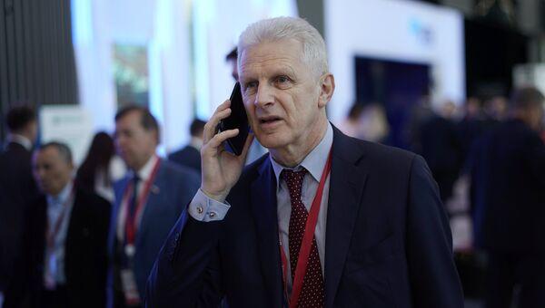Андрей Фурсенко на Петербургском международном экономическом форуме. 24 мая 2018
