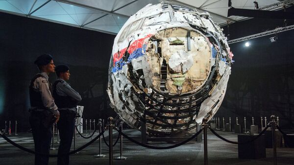 Представление доклада об обстоятельствах крушения лайнера Boeing 777 Malaysia Airlines (рейс MH17) в Нидерландах