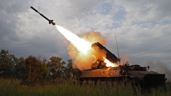 Стрельбы из зенитно-ракетного комплекса Стрела-10