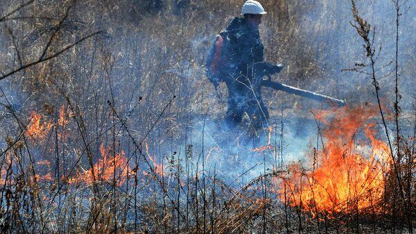ОНФ организовал в Иркутской области учения противопожарных отрядов