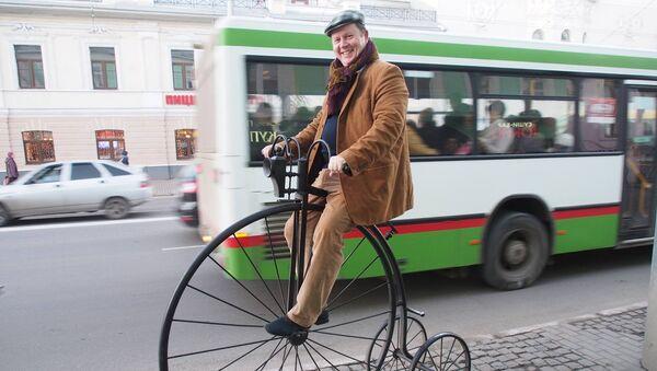 Прогулка на велосипеде во Владимире
