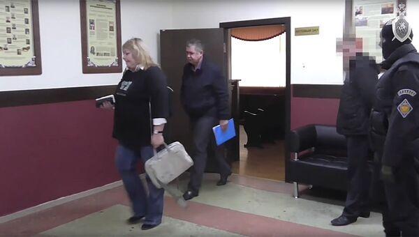 Задержание начальника ГУ МЧС по Кемеровской области Александра Мамонтова
