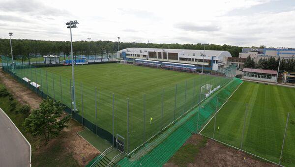 Тренировочные поля Учебно-тренировочного Центра Новогорск, где будет  базироваться сборная России по футболу во время ЧМ-2018