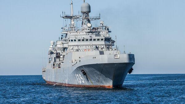 Большой десантный корабль Петр Моргунов