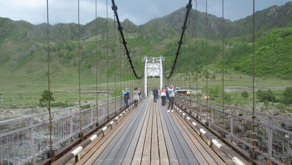 Республика Алтай. Ороктойский мост