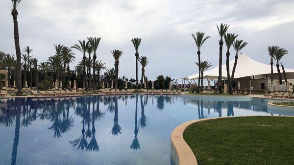 Бассейн в отеле Movenpick, Сус, Тунис