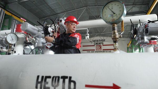 Пункт подготовки нефти