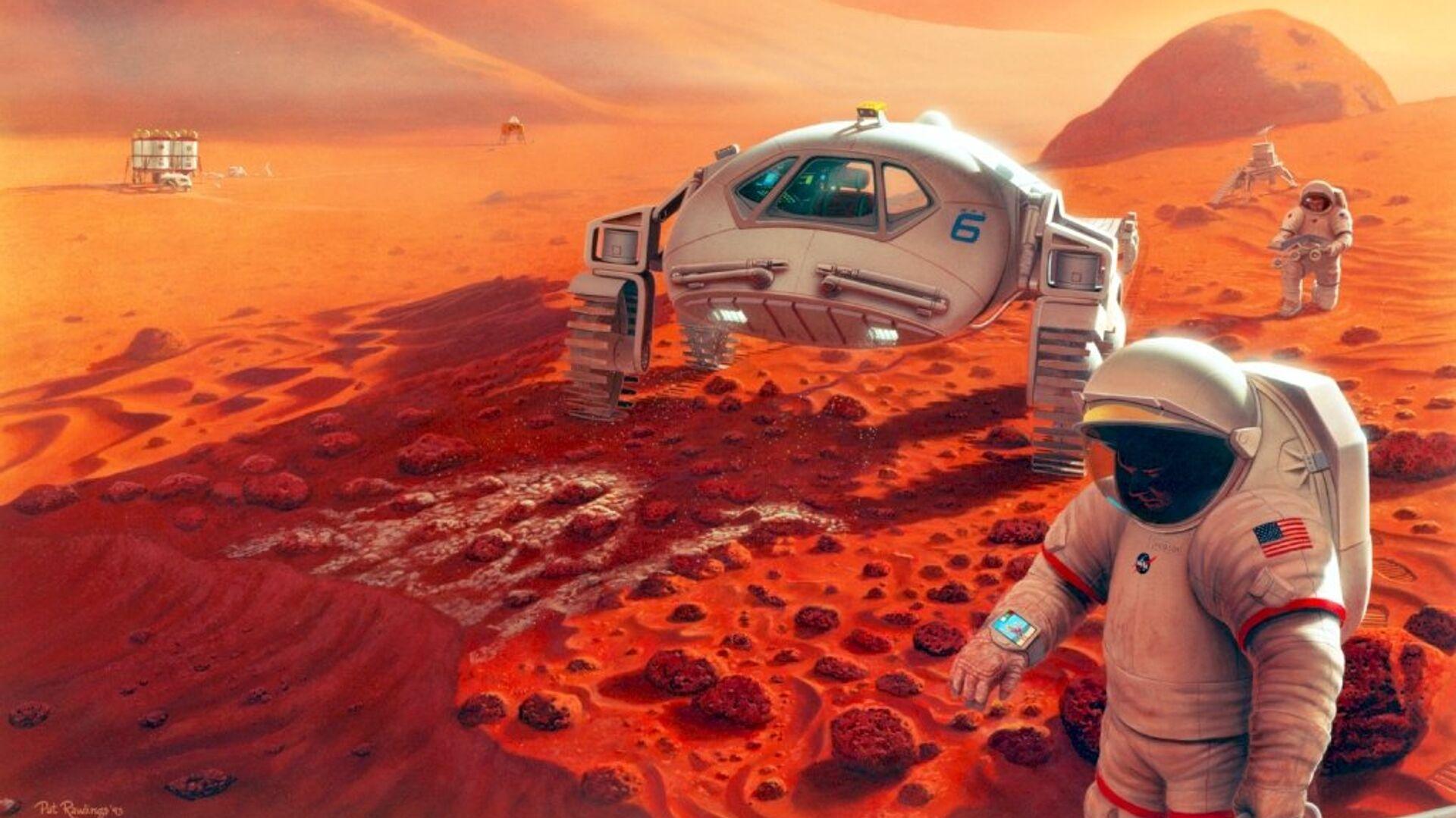Концепция колонизации Марса - РИА Новости, 1920, 01.04.2021
