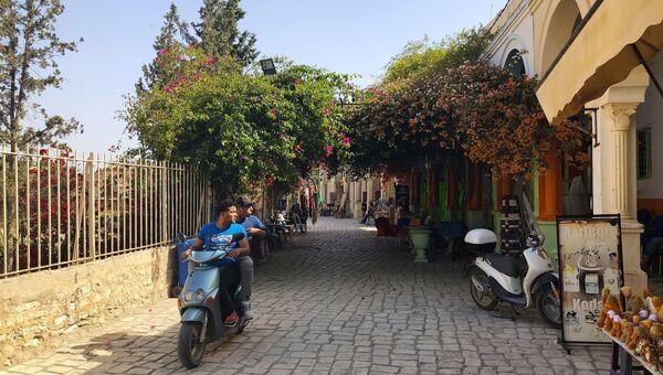 Неподалеку от колизея в Эль-Джеме, Тунис