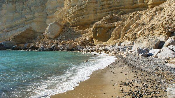 Red Beach на Крите в Греции