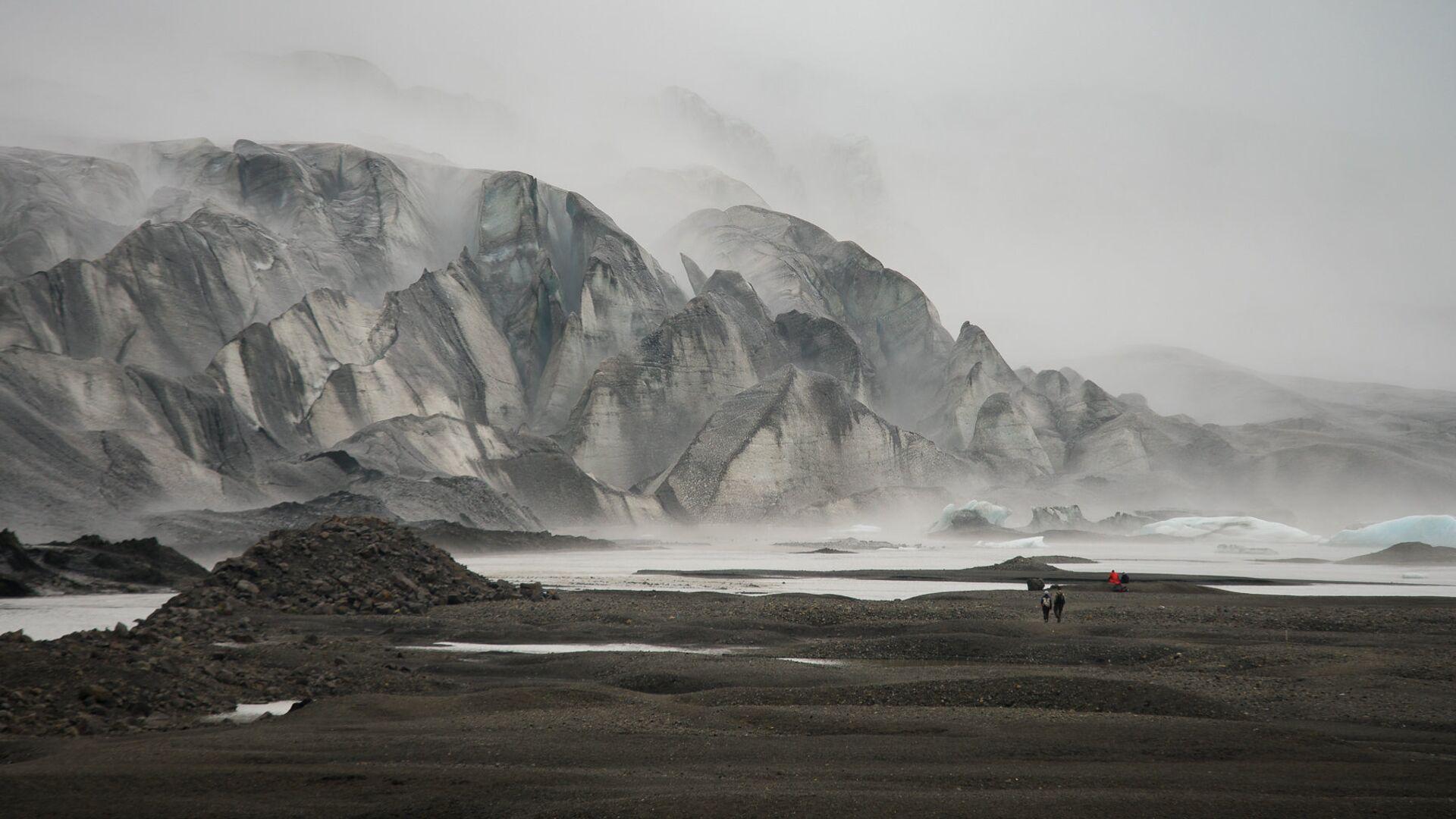 Исландия, Скафтафель, Ледник Скафтафельйокуль - РИА Новости, 1920, 30.04.2020