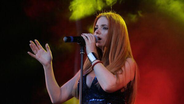 Российская исполнительница Лена Катина. Архивное фото