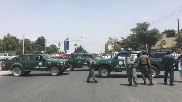 Сотрудники правоохранительных органов  в Кабуле. Архивное фото