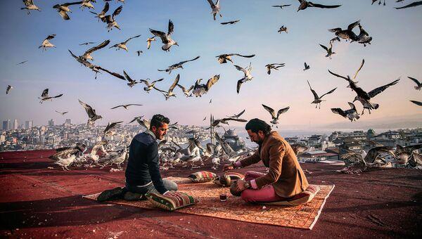 Фотография Себнем Коскуна Завтрак на привале. Моя Планета, одиночные фотографии