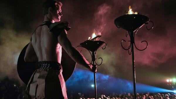 Международный Фестиваль античного искусства Боспорские агоны в Керчи