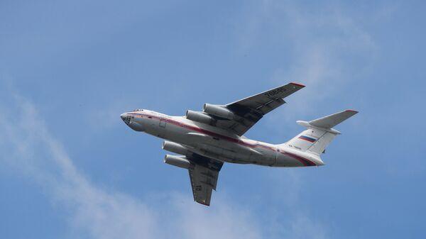 Самолет МЧС РФ ИЛ-76ТД