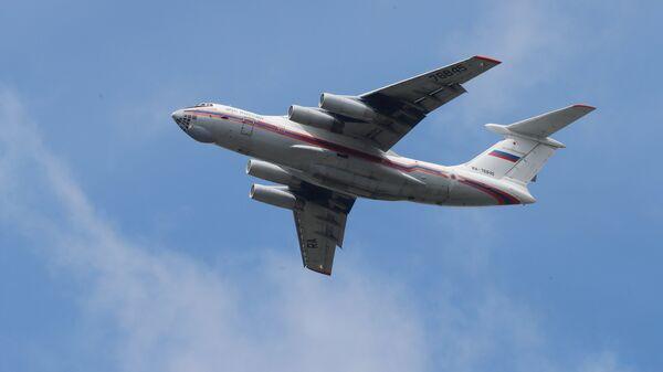 Самолет МЧС РФ ИЛ-76