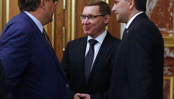 Заседание правительства РФ в новом составе