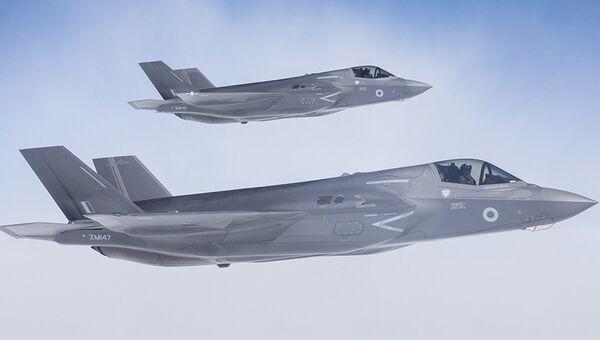 Истребители-бомбардировщики F-35. Архивное фото