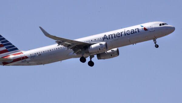 Самолет Airbus A321 авиакомпании American Airlines. Архивное фото