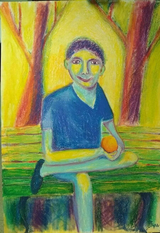 Одна из картин Тима Штромана
