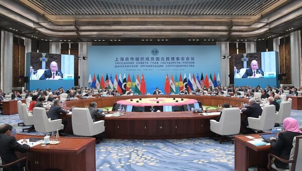 Саммит глав стран ШОС. 10 июня 2018