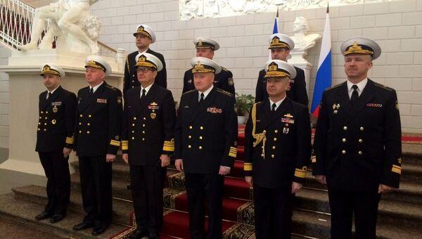 ВМС Турции завершила  визит в Санкт-Петербург