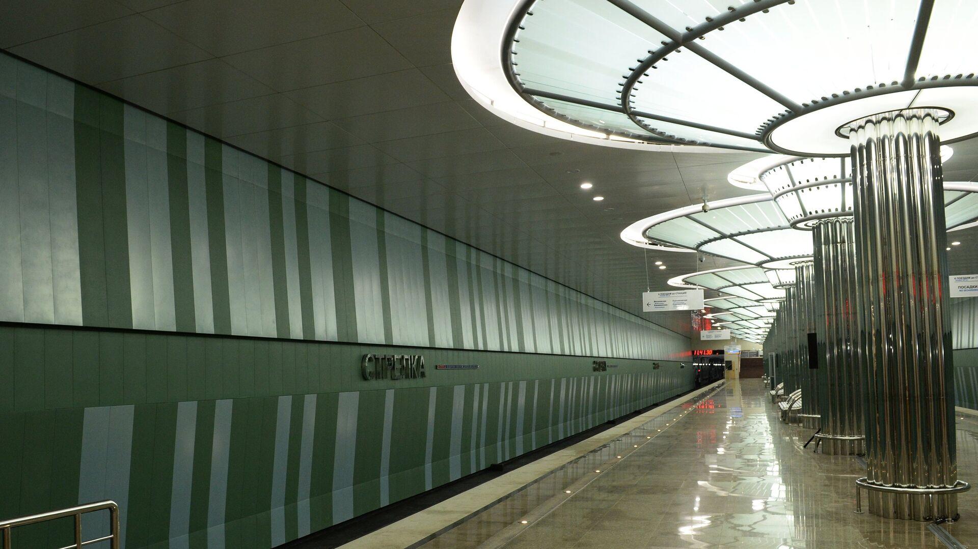 Станция метро Стрелка в Нижнем Новгороде - РИА Новости, 1920, 14.09.2021