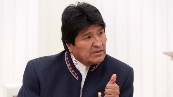 Экс-президент Боливии Эво Моралес