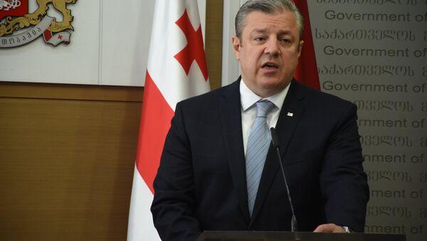 Бывший премьер-министр Грузии Георгий Квирикашвили