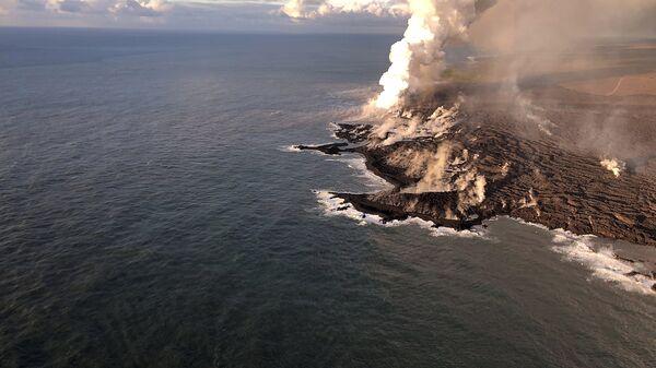 Ситуация на Гавайях после извержения вулкана