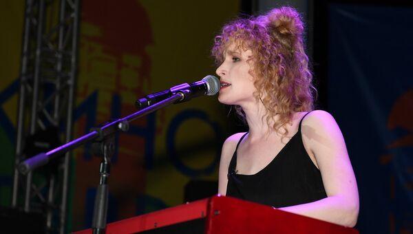 Певица Монеточка (Елизавета Гырдымова). Архивное фото