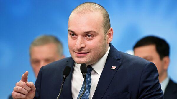 Премьер-министр Грузии Мамука Бахтадзе. Архивное фото