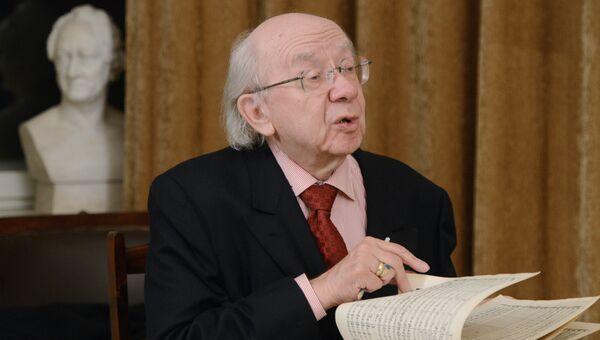Профессор Геннадий Рождественский. Архивное фото