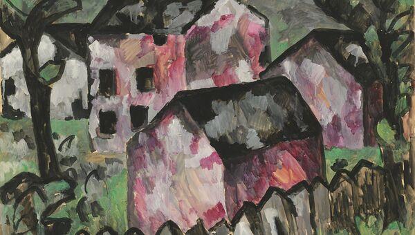 Картина Малевича, выставляемая на торги Кристис в Лондоне