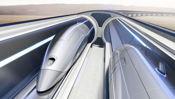 Система Hyperloop Transportation Technologies