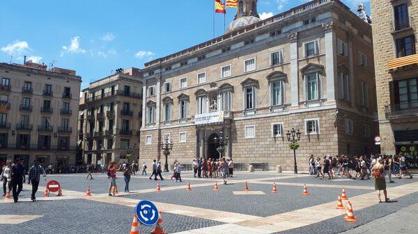 Здание женералитета Каталонии. Архивное фото