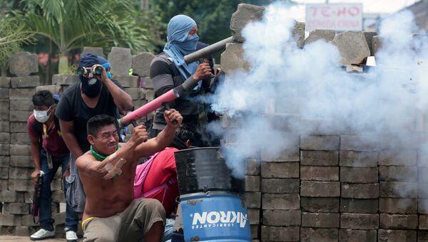 Протесты против правительства президента Никарагуа Даниэля Ортега. Архивное фото