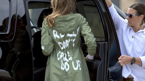 Мелания Трамп после посещения центра по содержанию детей мигрантов