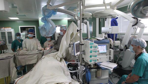 Работа отделения нейрохирургии