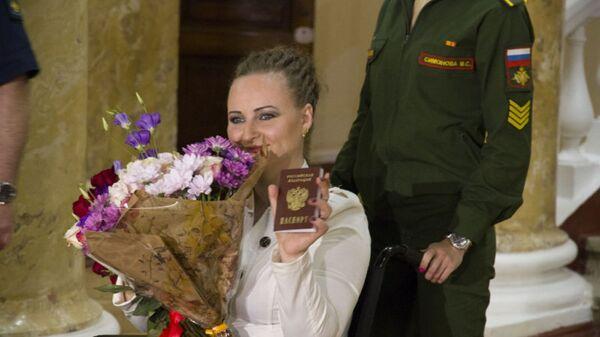 Пострадавшая в Сирии украинка Ирина Баракат