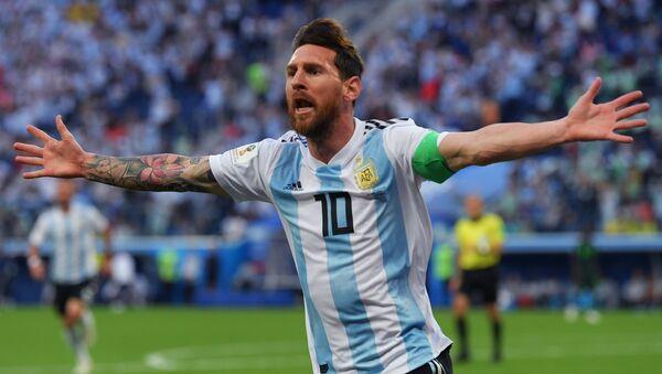 Форвард сборной Аргентины Лионель Месси. Архивное фото