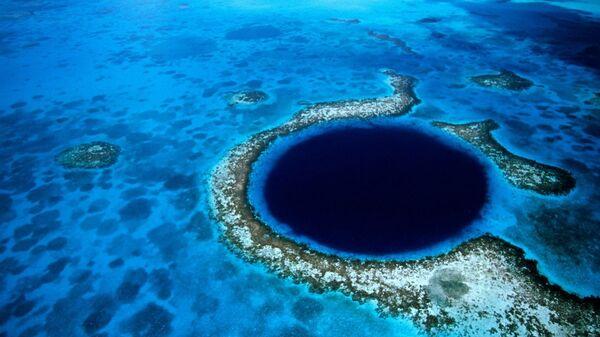 Большая голубая дыра в Белизе