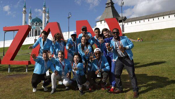 Как форум FISU собрал в Казани волонтёров со всего света