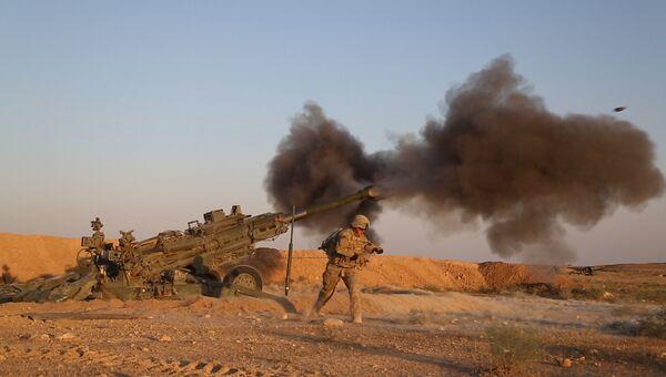Военнослужащие армии США у сирийско-иракской границы. Архивное фото